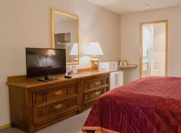 King Oscar Motel Centralia Room Amenities